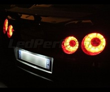 Pack LED License plate (Xenon White) for Nissan GTR R35