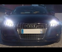 Pack daytime running light (DRL) xenon white for Audi TT 8J