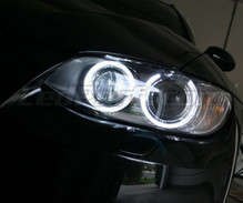 Pack Led H8 Angel Eyes (Pure White 6000K) for BMW 3 (E92 - E93) - Standard