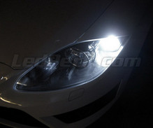 Pack LED daytime running lights (DRL) xenon white for Seat Leon 2