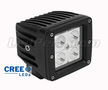 Additional LED Light CREE Square 16W for Motorcycle - Scooter - ATV
