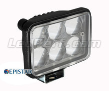 LED Working Light Rectangular 18W for 4WD - Truck - Tractor