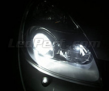 Pack sidelights LED (xenon white) for Renault Clio 2