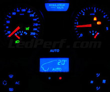 Instrument panel LED kit for Renault Megane 2