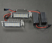 Pack of 2 LEDs modules license plate OPEL and CHEVROLET (Type 3)