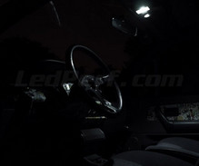 Pack interior Full LED (Pure white) for Renault Clio 1