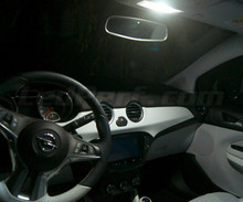 Pack interior Full LED (Pure white) for Opel Adam