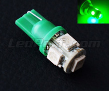 Led Bulb T10 Xtrem HP Green (w5w)