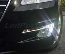 Pack LED daytime running lights (xenon white) for Peugeot 508 (without original xenon)
