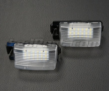 Pack of 2 LEDs modules license plate NISSAN and INFINITI