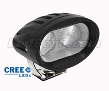 Additional LED Light CREE Oval 20W for Motorcycle - Scooter - ATV