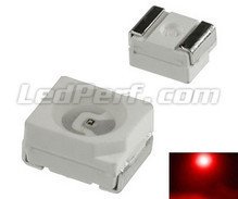 100 smd TL LED - Red - 140mcd