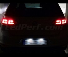 Pack LED License plate (6000K pure white) for Volkswagen Golf 7