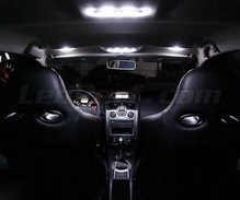 Interior Full LED pack (pure white) for Renault Megane 2 - Plus