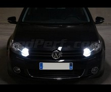 Pack Xenon Effects daytime (DRL) and Hi-beam H15 bulbs for Volkswagen Golf 6