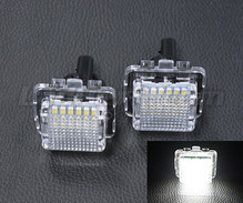 Pack of 2 LEDs modules license plate for Mercedes CLS (W218)