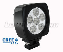 Additional LED Light Square 60W CREE for 4WD - ATV - SSV