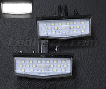 Pack of 2 LEDs modules license plate for Toyota Prius