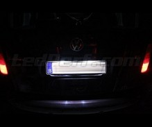 Pack LEDs (white 6000K) license plate for Volkswagen Caddy