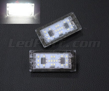 Pack of 2 LEDs modules license plate for Skoda Fabia 1