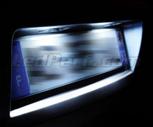 LED Licence plate pack (xenon white) for Opel Zafira C
