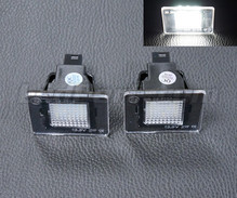 Pack of 2 LEDs modules license plate for Mercedes ML (W166)