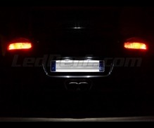 LED Licence plate pack (xenon white) for Porsche Cayman 2006