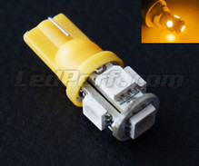 T10 Xtrem HP LED bulb - Orange/Yellow (w5w)