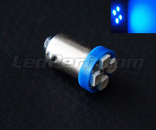 LED T4W - Socket BA9S - Blue - efficacity