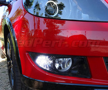 Pack LED daytime running lights (DRL) xenon white for Skoda Fabia 2