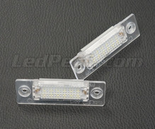 Pack of 2 LEDs modules license plate VW Audi Seat Skoda (type 13)