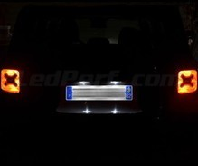 Pack LED License plate (Xenon White) for Jeep Renegade