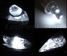 Pack LED daytime running lights (xenon white) for Jeep Compass II