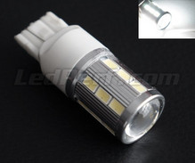 Bulb W21W Magnifier 21 LED High Power SG + Lens - White - Socket T20