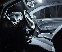 Interior Full LED pack (pure white) for Seat Ibiza 6J