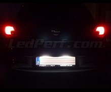 LED Licence plate pack (xenon white) for Opel Corsa E