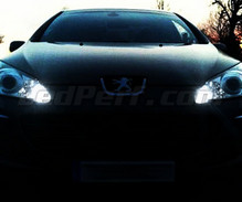 Pack sidelights LED (xenon white) for Peugeot 407