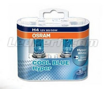 Pack of 2 Bulbs H4 Osram Cool Blue Hyper