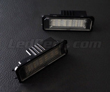 Pack of 2 LEDs modules license plate VW Audi Seat Skoda (type 2)