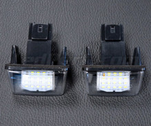 Pack of 2 LEDs modules license plate for Peugeot 407