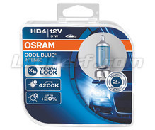Pack of 2 Bulbs HB4 Osram Cool Blue Intense