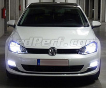 Pack Xenon Effects headlight bulbs for Volkswagen Golf 7