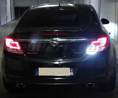 Pack LEDs (white 6000K) backup lights for Opel Insignia
