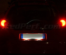 Pack LED License plate (Xenon White) for Citroen C1