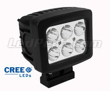 Additional LED Light Rectangular 60W CREE for 4WD - ATV - SSV