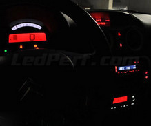 Instrument panel LED kit for Citroen C2 phase 2