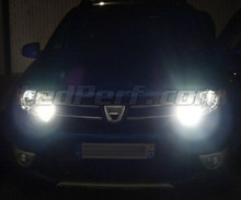 Pack Leds DRL/sidelights (xenon white) for Dacia Sandero