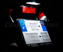 Pack LED License plate (Xenon White) for MBK Flipper
