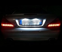 Pack LED License plate (6000K pure white) for Mercedes SL R230