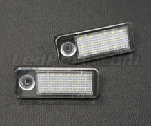Pack of 2 LEDs modules license plate VW Audi Seat Skoda (type 6)